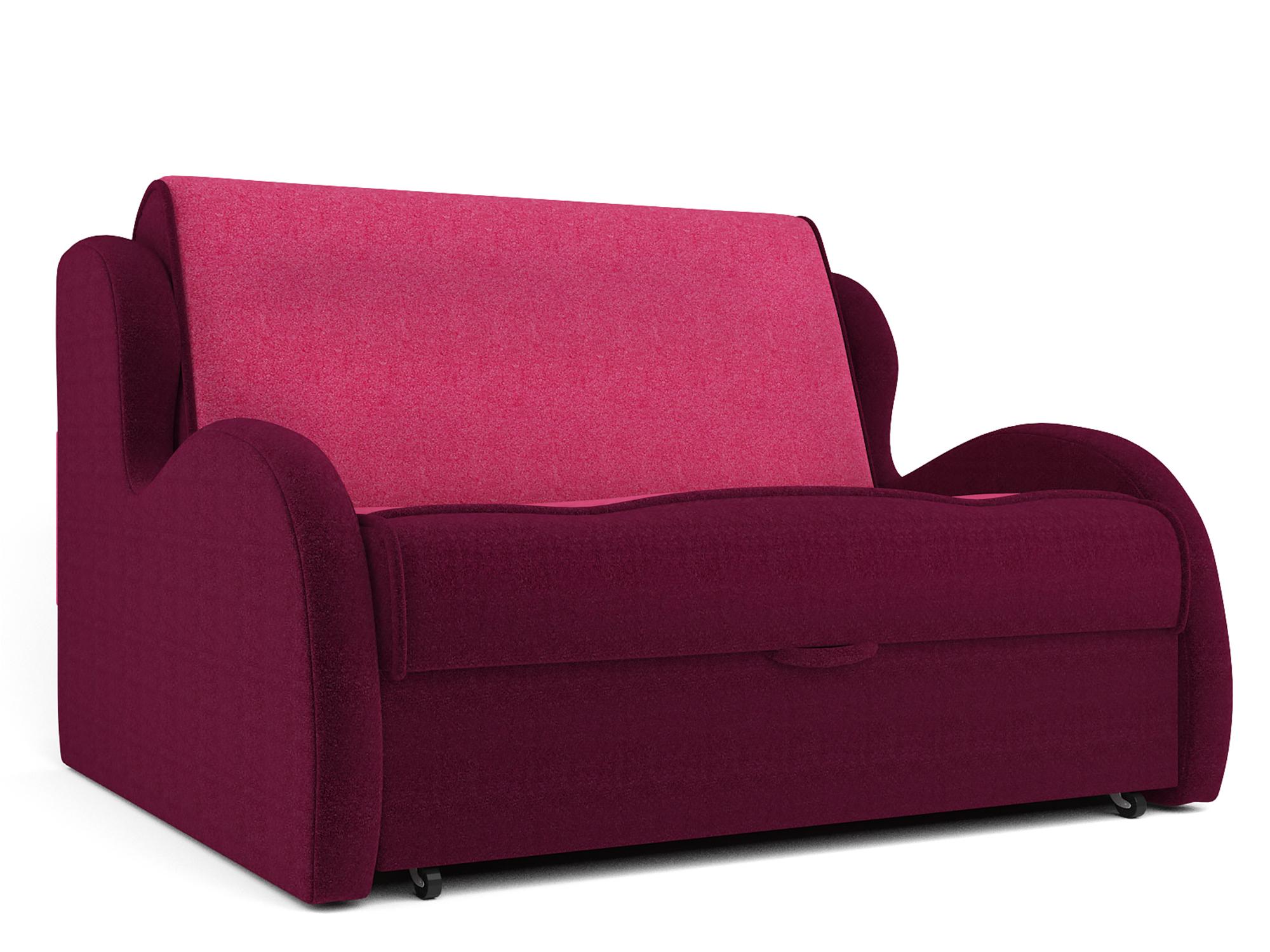 Диван Алан (140х195) MebelVia Красный, Розовый