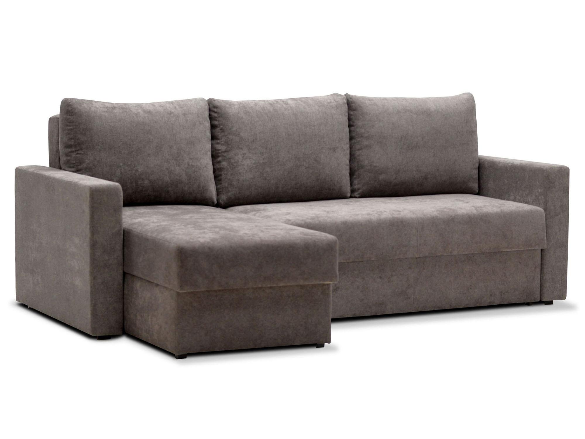 Угловой диван Мекс 4 MebelVia Серый