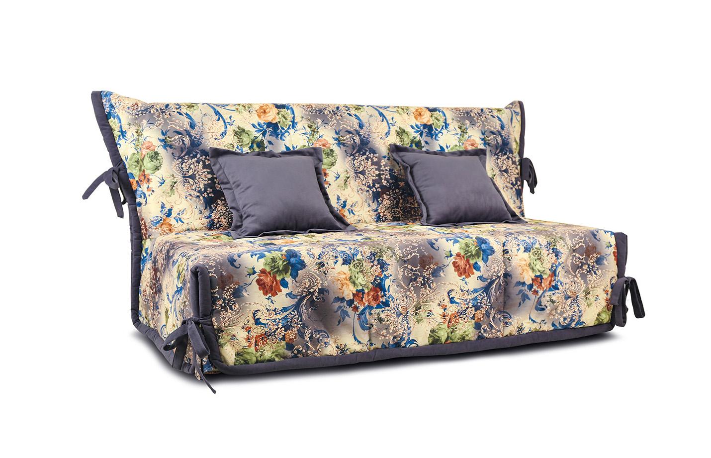 ТриЯ диван Венеция Серо-синяя