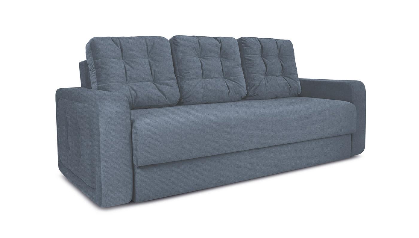ТриЯ диван еврокнижка Колин Neo 07 светло-серый
