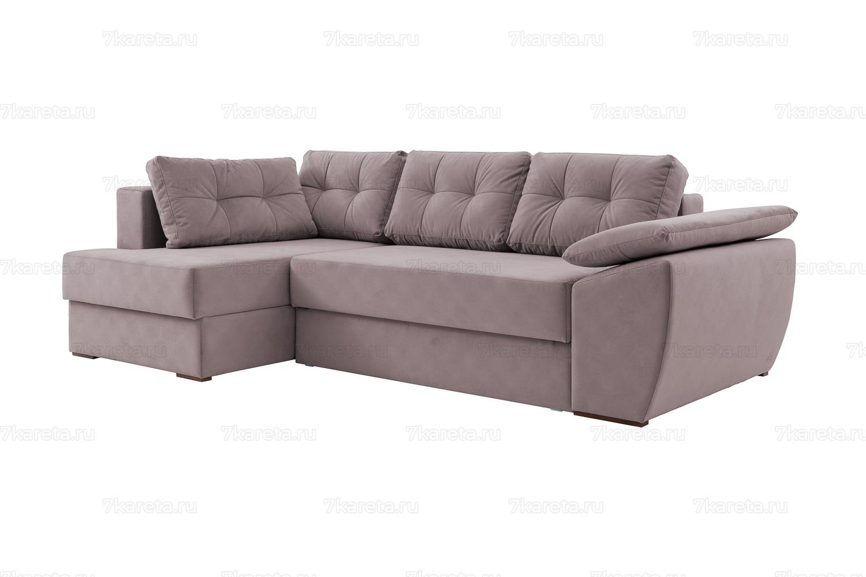 7 Карета угловой диван Милан