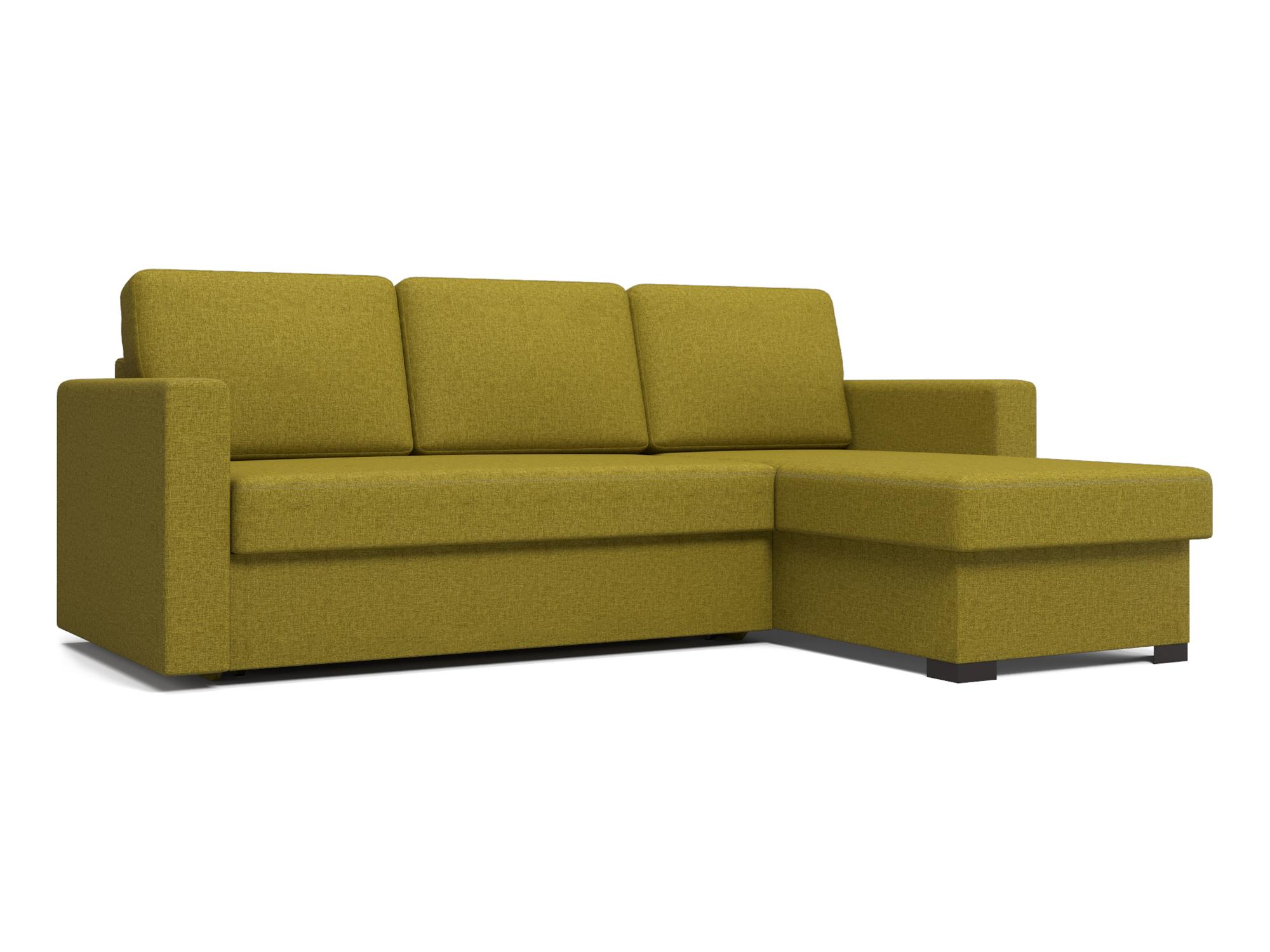 Угловой диван Траумберг (Порту, Торонто, Фишер) MebelVia Зеленый