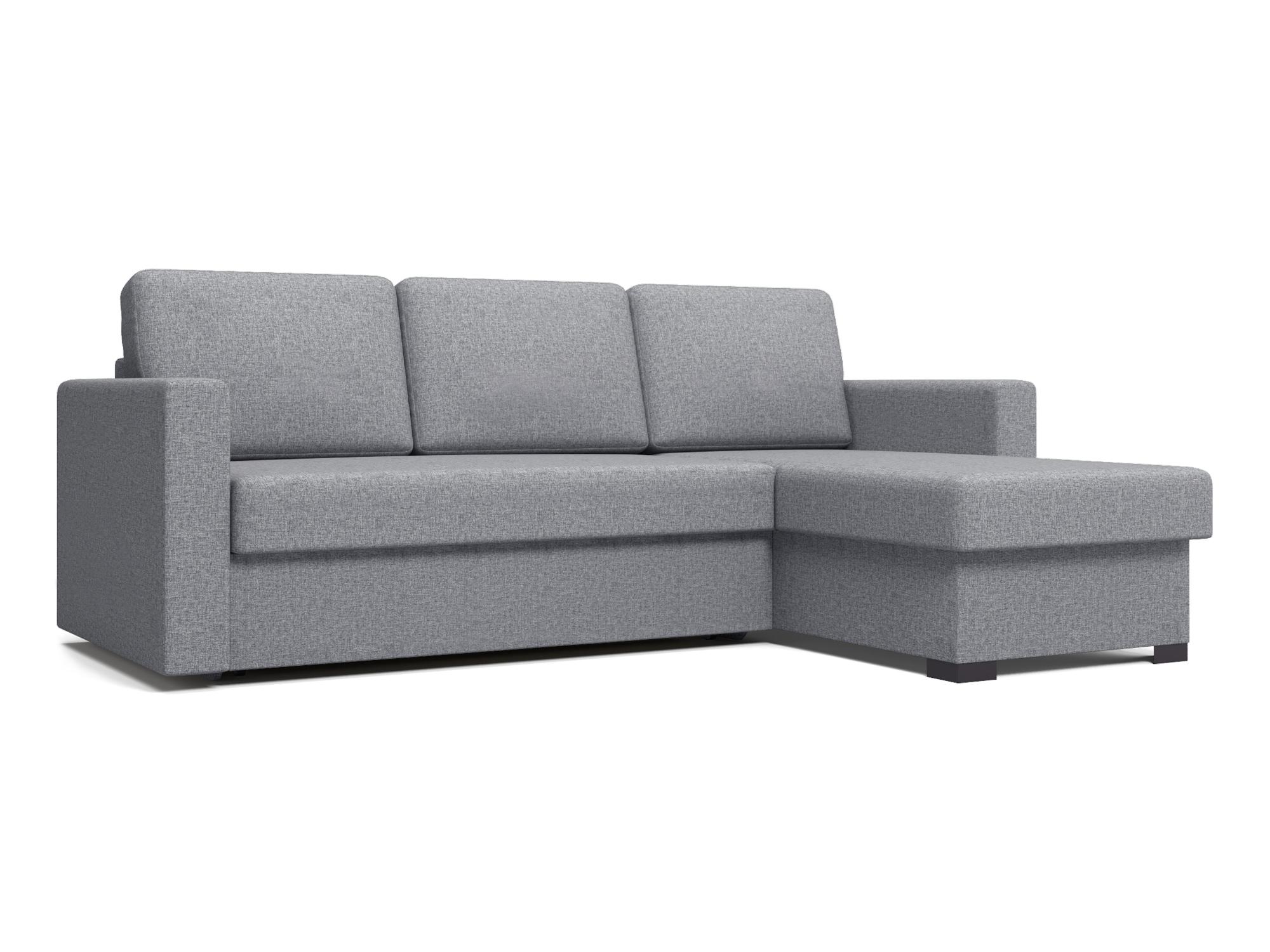 Угловой диван Траумберг (Порту, Торонто, Фишер) MebelVia Серый