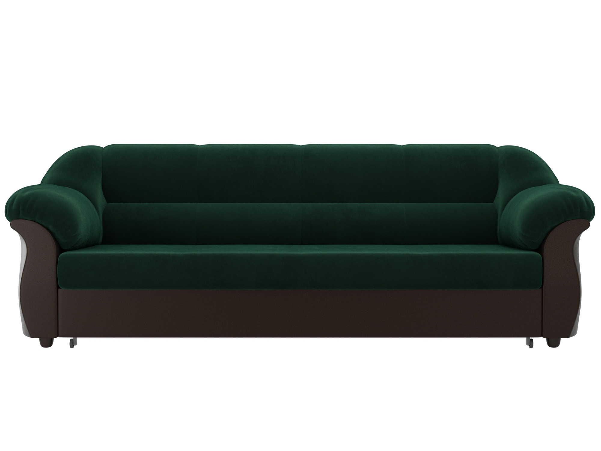 Диван Карнелла MebelVia Зеленый, Коричневый