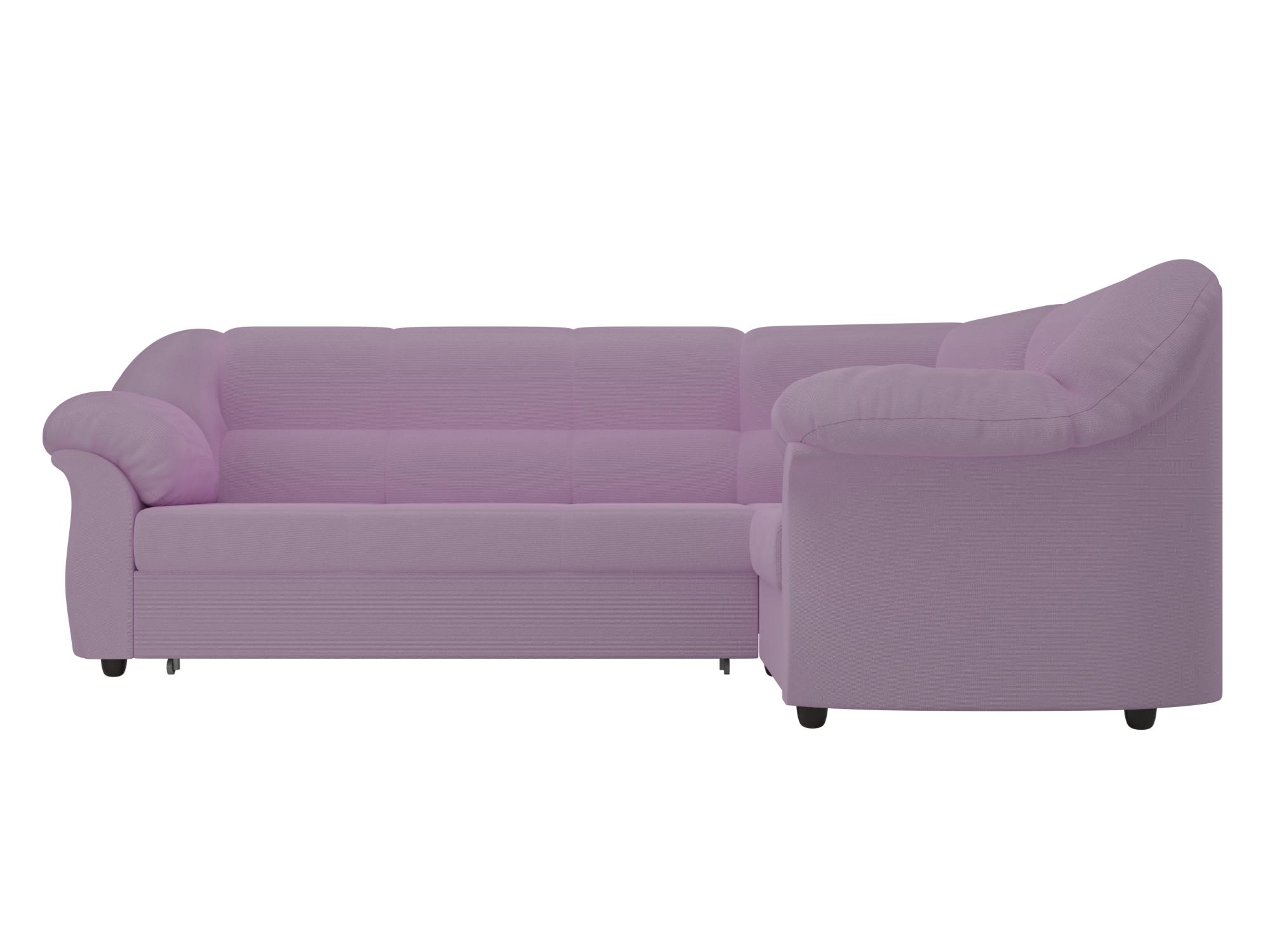 Угловой диван Карнелла Правый MebelVia Фиолетовый