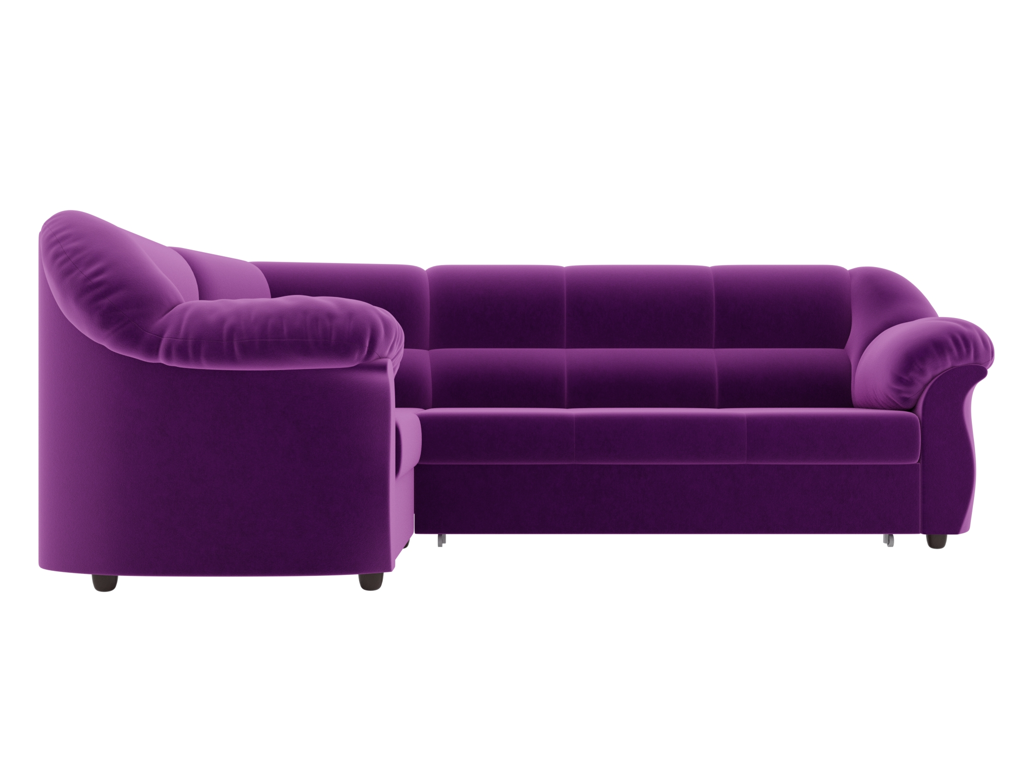 Угловой диван Карнелла Левый MebelVia Фиолетовый