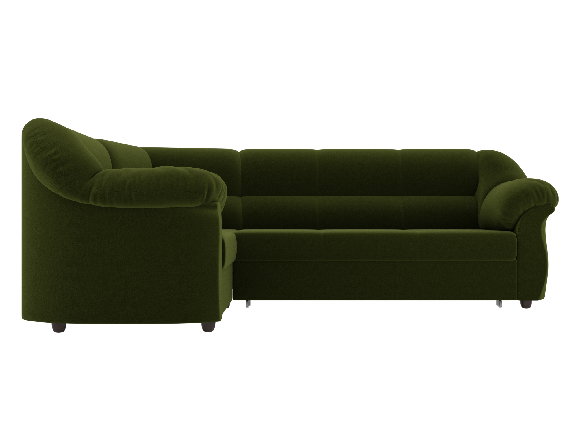 Угловой диван Карнелла Левый MebelVia Зеленый