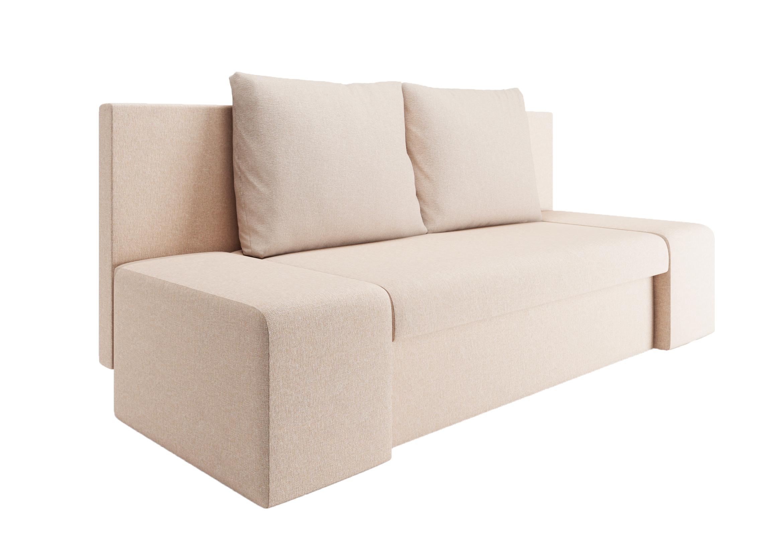 Аккорд диван еврокнижка Сан-Ремо (АК) Лега Крем