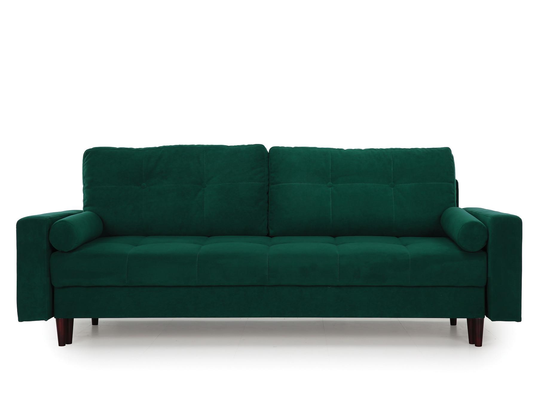 Диван-кровать Лоретт MebelVia , Зеленый, Велюр, ДСП, ДВП, Брус Зеленый