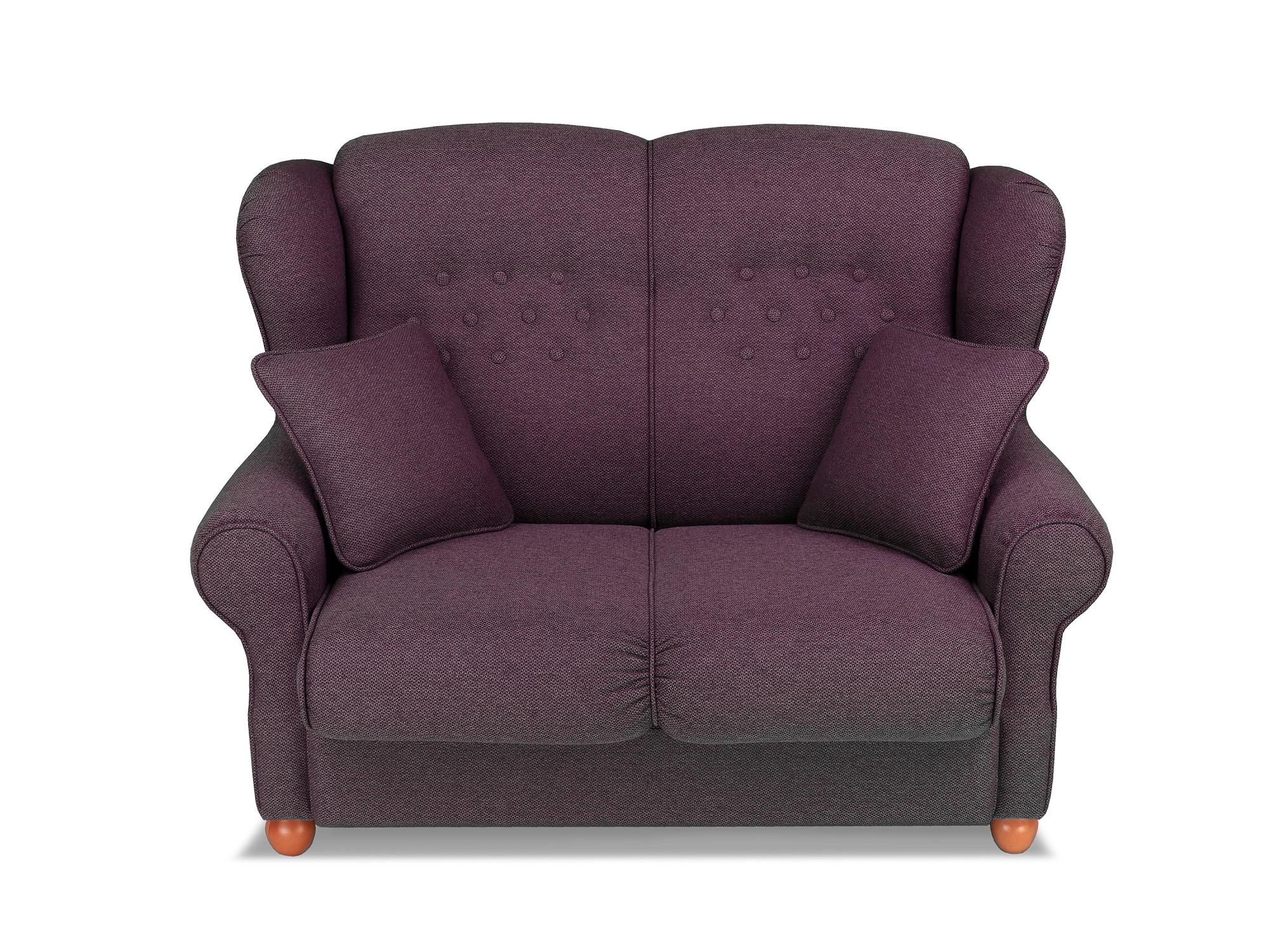Диван-кровать Ланкастер MebelVia Фиолетовый, Бук, Хвойные породы Фиолетовый