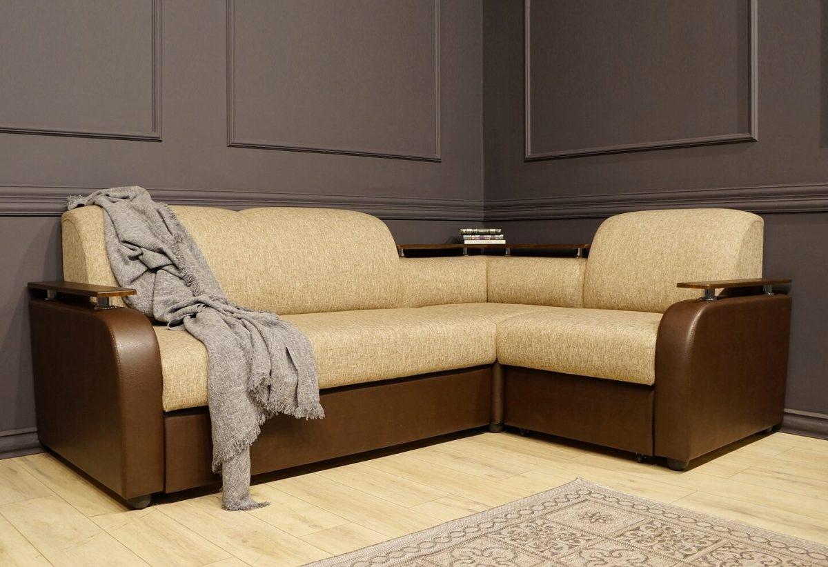 Виза угловой диван Виза 03 с баром