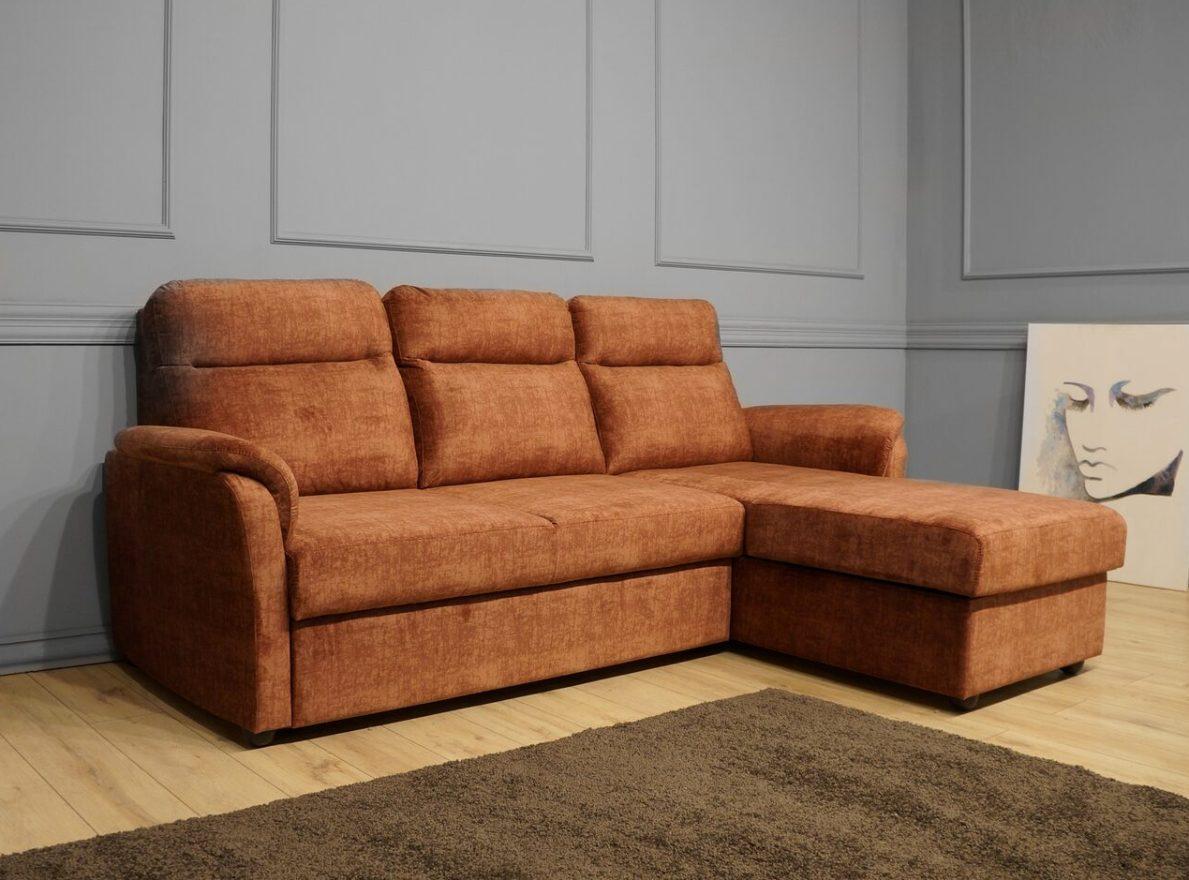 Виза угловой диван Виза Комфорт с оттоманкой