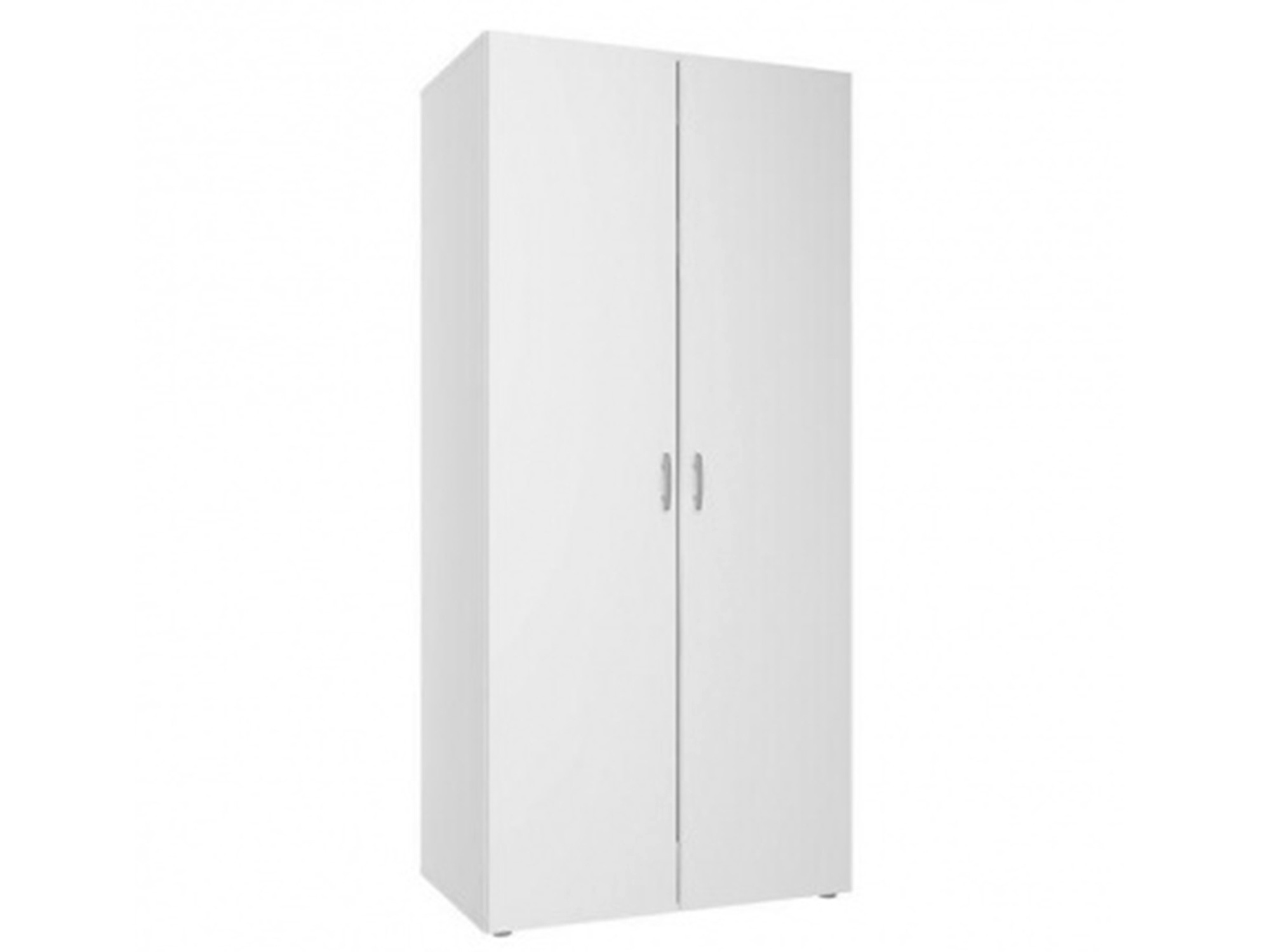 Шкаф 2-х дверный Base (Базе) Белый