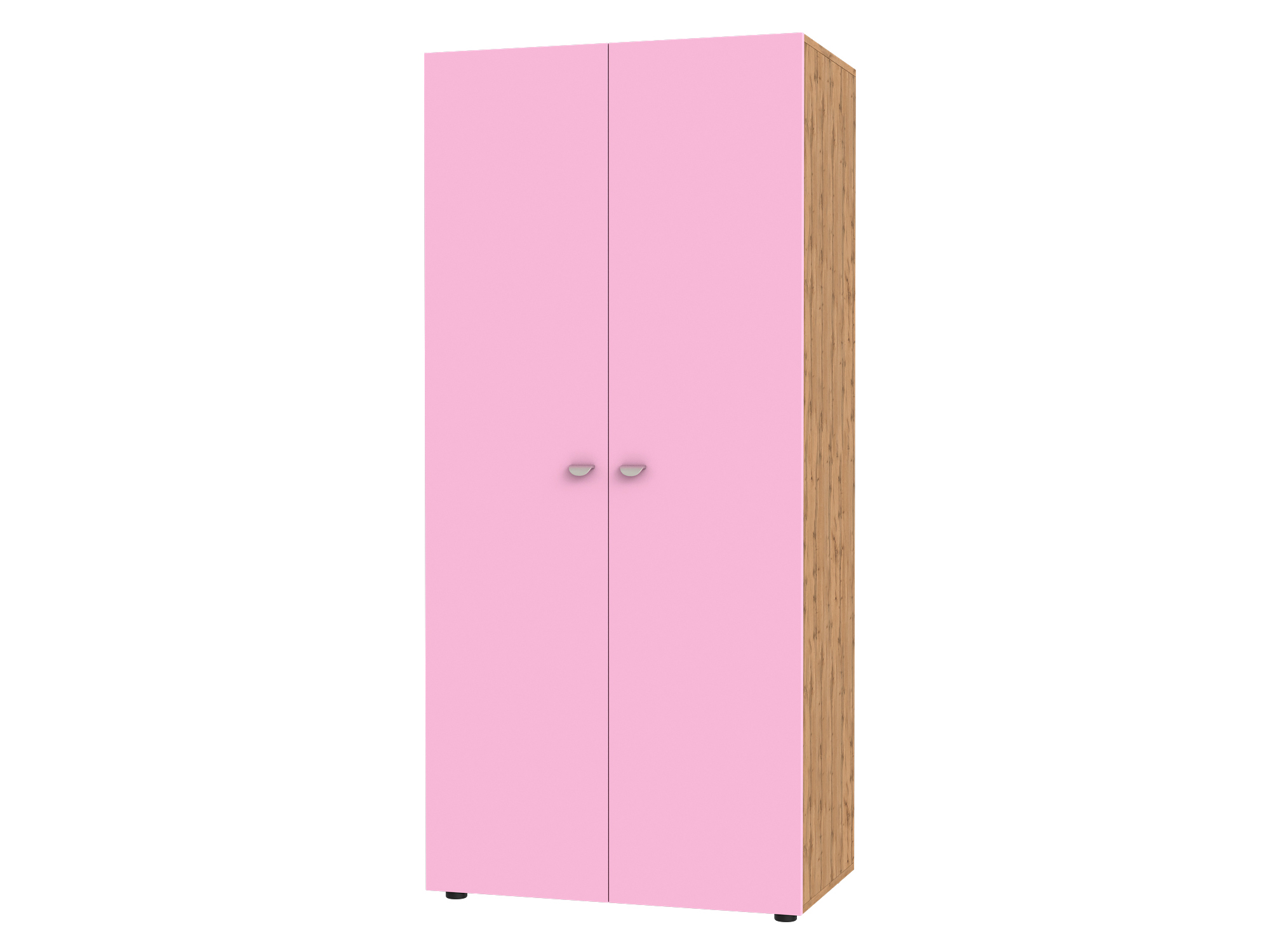 Шкаф 2-х дверный Golden Kids Розовый