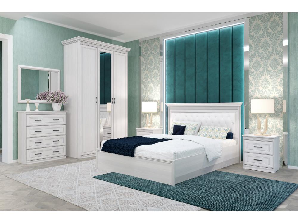 Спальня Неаполь (комплект 2) Бежевый