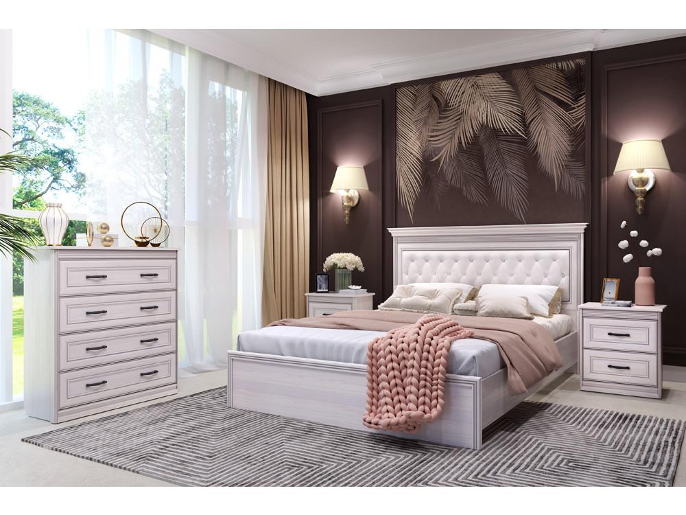 Спальня Неаполь (комплект 3) Бежевый